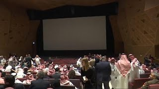 Cinema opens in Saudi Arabia, ending decades-old ban