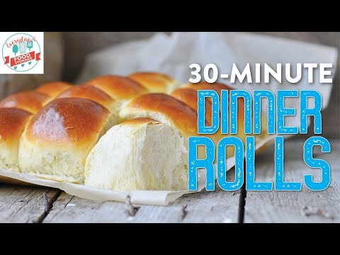 Easy Dinner Rolls Recipe...Super Soft & Chewy!!!!