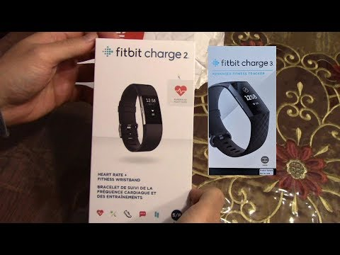 Fitbit Charge 2 and Charge 3 Fitness Tracker Watch Review