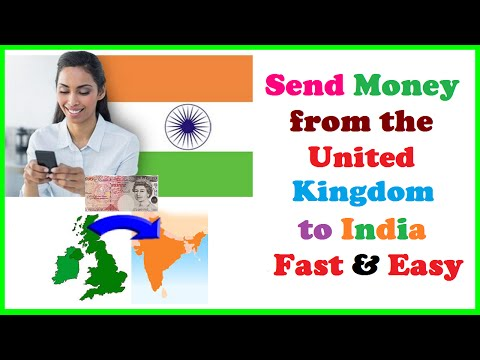 Send Money from the UK to India Fast & Easy