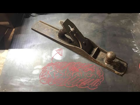 [Restoration] Stanley No. 7 Jointer Plane