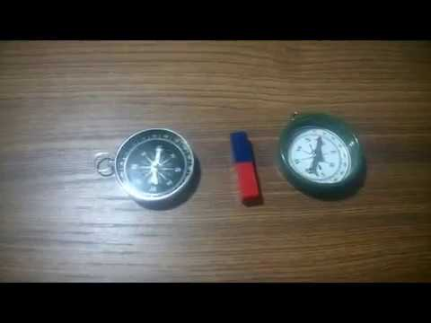 Science project : Magnet VS. Compass