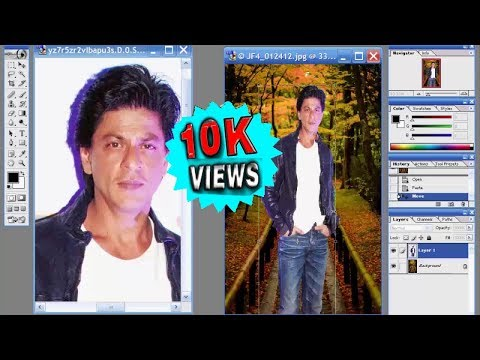 HOW TO CHANGE PHOTO BACKGROUND IN PHOTOSHOP 7.0 (IN BANGLA) || BANGLA TUTORIAL || ONLINE VIDEOS