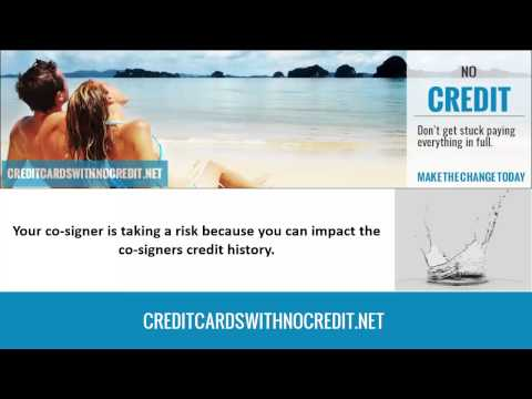 Easy 'no credit' credit cards for beginners.
