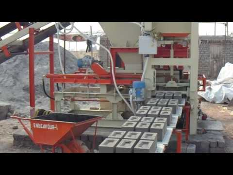 Fully Automatic Fly Ash Bricks Making Plant