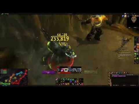 WoW Havoc Demon Hunter Combat text Weak Aura