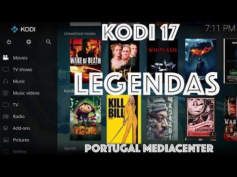 Kodi 17 como configurar as Legendas