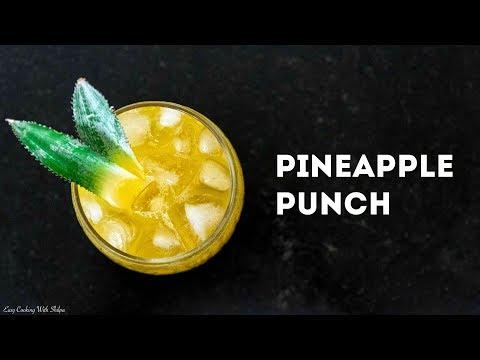 How To Make Pineapple Punch | Ananas Sharbat | Mocktail Recipe | ECWS (feat. Akshay Joshi)