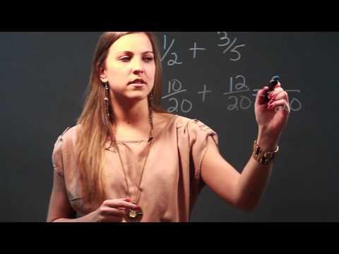 The Advantages of Using the Least Common Denominator When Adding & Subtracting Denominators