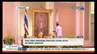 Thai king endorses prayuth Chan-Ocha as Prime minister