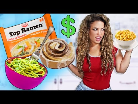 7 CHEAP RECIPES EVERY COLLEGE STUDENT NEEDS!