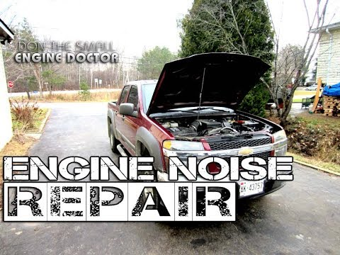 Easy Engine Noise Repair On Chevy Colorado, GMC Canyon, Blazer, Hummer H3 - i5 Cylinder Engine
