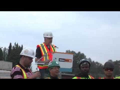 WorkSafeBC's new fall protection safety campaign