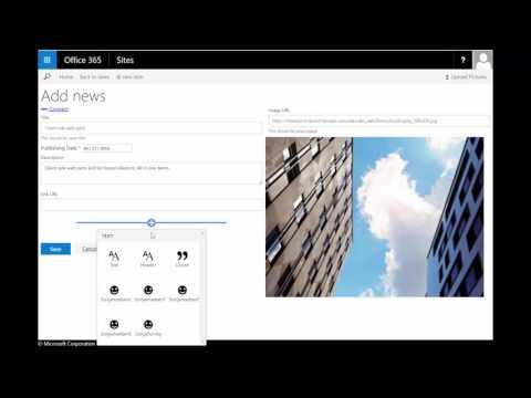 SharePoint Framework List based application