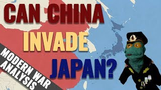 Can China invade Japan? (If USA is neutral)