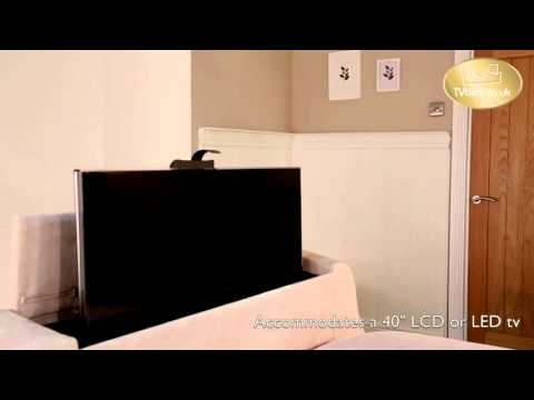 Astonishing Vivaldi Tv Bed Black Leather Single Tv Bed Machost Co Dining Chair Design Ideas Machostcouk