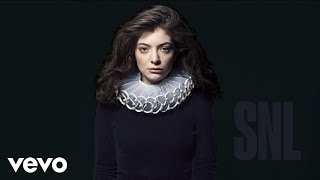 Lorde - Green Light (Live On SNL/2017)