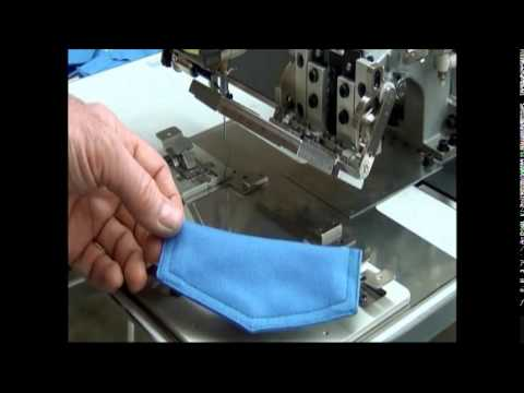 Mitsubishi Electric Industrial Sewing - Sewing Pocket Flap