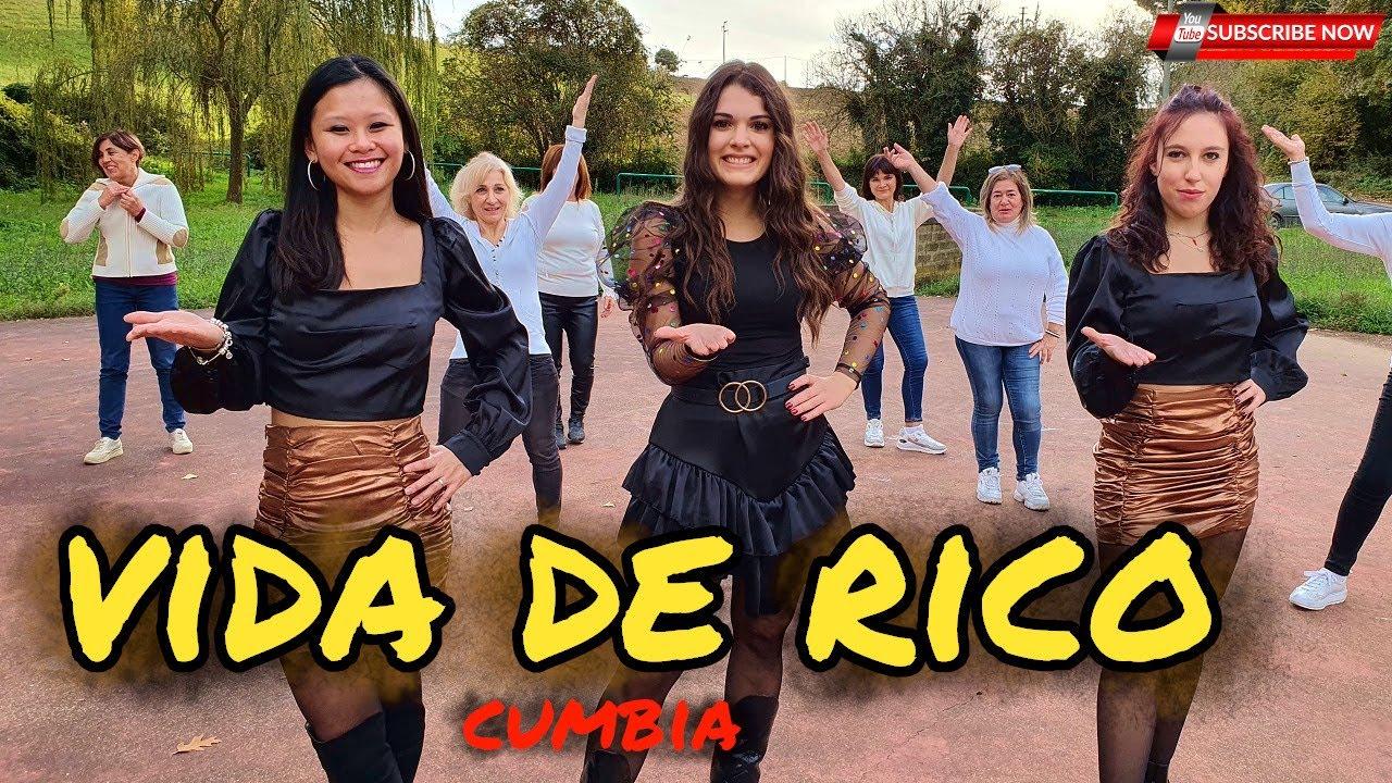 Download VIDA DE RICO   CAMILO   official   Baile en linea   COREOGRAFIA   line DANCE   CUMBIA   Choreo MP3 Gratis