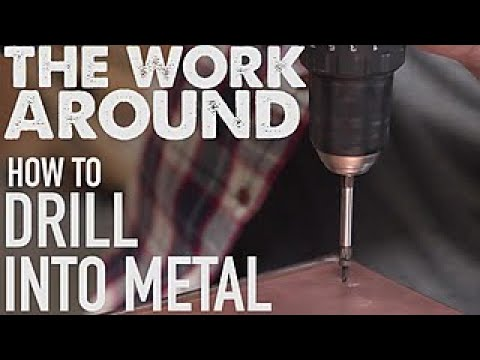 How to Drill Into Metal - The Work Around - HGTV