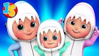 Baby Shark Song | Wheels On The Bus | Finger Family | Children's Nursery Rhymes & Kids Songs