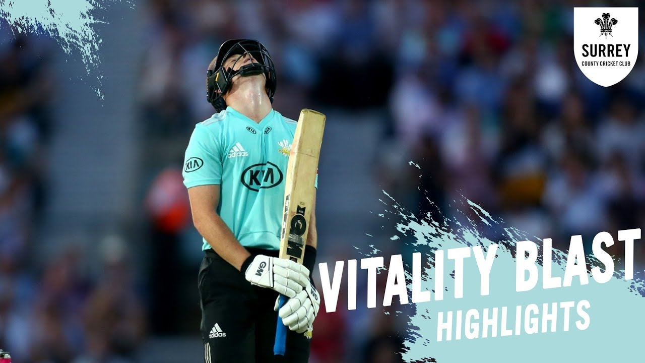 Pope returns for London Derby clash | Highlights of Surrey v Middlesex in the Vitality Blast