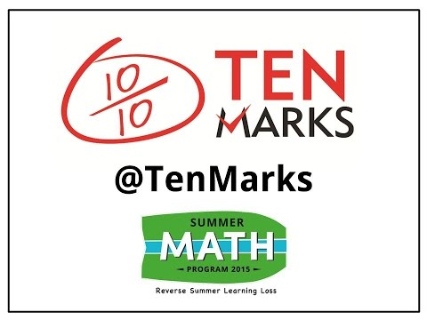Ten Marks Math