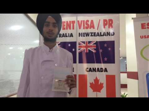 CANADA Study Visa - Prabhjot Singh going to Centennial College.