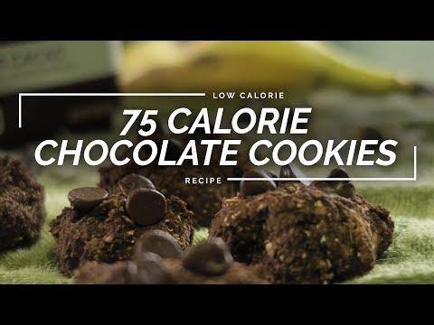 Chocolate Banana Cookies | 4 Ingredient Healthy Oat Cookies