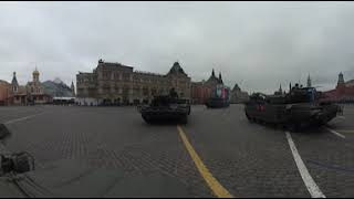 See 'Terminator' fighting vehicles rumble through Moscow in 360