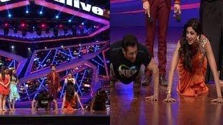 When Shilpa did push ups with Salman Khan