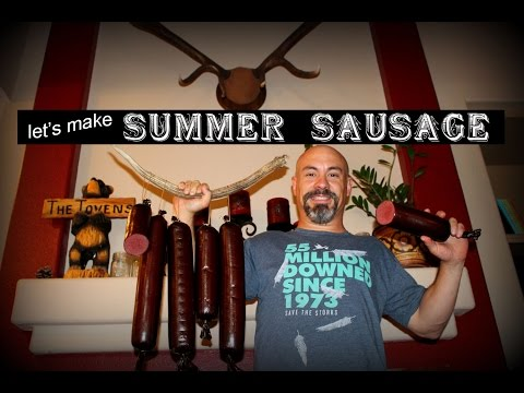 How To Make Your Own Summer Sausage!