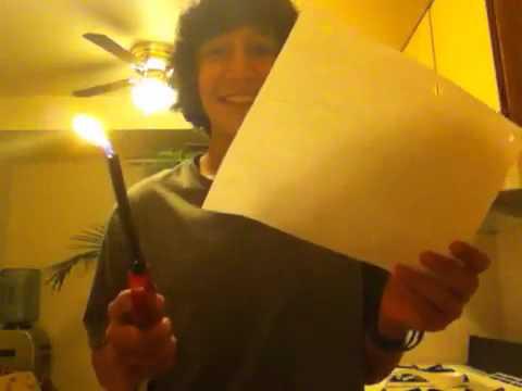 Burn The Paper
