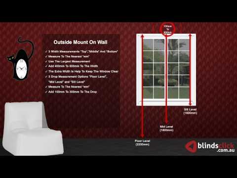 Inverted Pleat Curtains Measurement Guide - BlindsClick.com.au