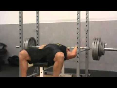 How to dump the bar in the Bench Press