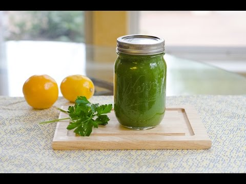 Juicing: Easy Green Juice of the day
