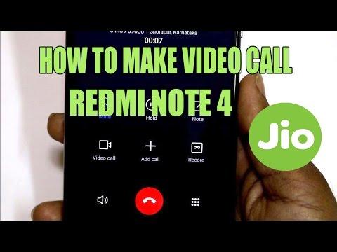How to Make video Call from Redmi Note 4 Using Jio Sim   Hindi   Andorid buddy  