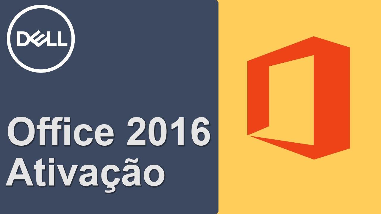 Office 2016 - Como Resolver problemas de ativação   (Dell Oficial)