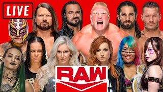 WWE RAW Live Stream March 30th 2020 Watch Along - Full Show Live Reactions
