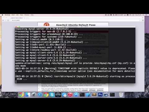 How to Install LAMP Setup on Ubuntu 15.04 (Apache, MySQL, PHP) [HD][4K][Tutorial] 2017