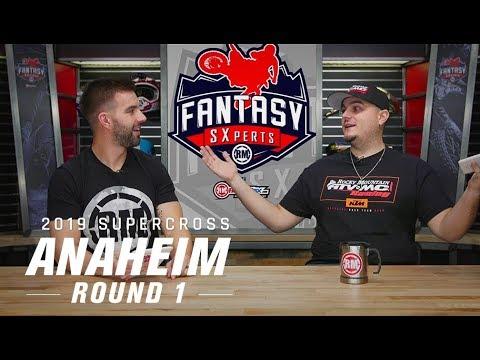 RMFantasy SXperts Round 1 | 2019 Anaheim 1 Supercross