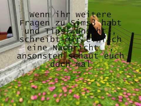 Wie man in Sims3 einen Garten anpflanzt / How one cultivates a garden in Sims3