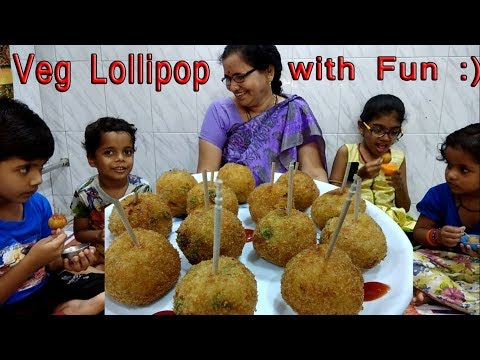 Veg Lollipop Recipe | How to make Vegetable Lollipop | Shubhangi Keer Recipe in Marathi