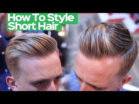 Mens Summer Hairstyle 2018 - Mens Short Hairstyle Tutorial 2018