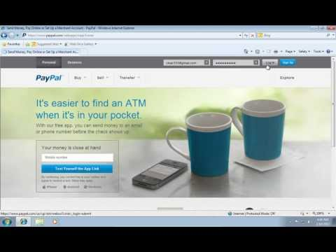 How to Change a Paypal Email Address