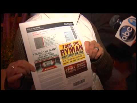 Police crackdown on fake tickets