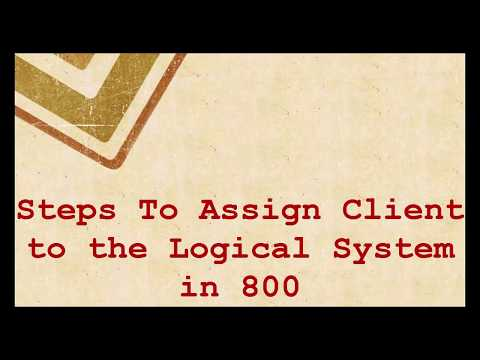 HOW TO ASSIGN A LOGICAL SYSTEM NAME TO A CLIENT IN SAP ABAP Using SCC4