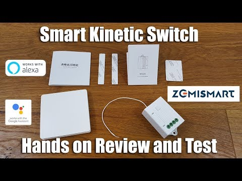 Zemismart Smart Kinetic Switch and Receiver [Hands on Review and Test]