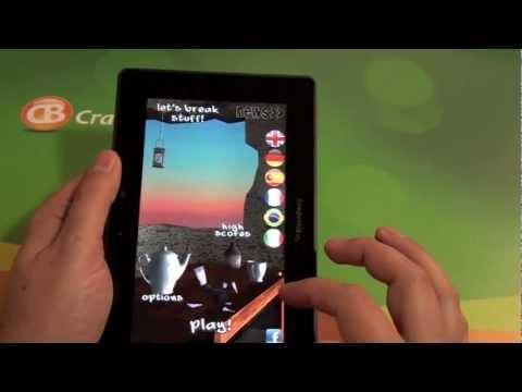 Let's Break Stuff for the BlackBerry PlayBook
