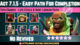 MCOC: Act 7.1.5 - Easy Path for Completion - Tips/Guides - No Revives - Story quest  (Book 2)